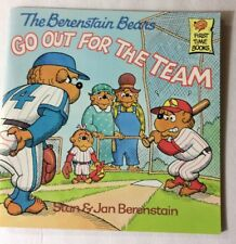 The Berenstain Bears Go Out for the Team 1986 First Time Books #23 By Stan Jan