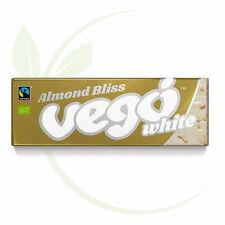 VEGO - Organic Almond Bliss Vegan White Chocolate Bar - 50g