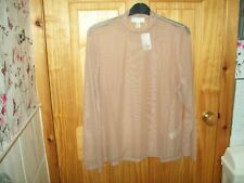 *** FOREVER 21  NEW NUDE/BEIGE SHEER DETAILED TOP SIZE 24  3X***