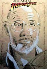"2008 Topps Indiana Jones Heritage Sketch Card Sarah Wilkinson ""ILLUMINATION"""