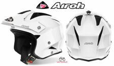 TRRS14 CASCO ON ROAD AIROH TRR S COLOR BIANCO LUCIDO MIS.XL 61-62