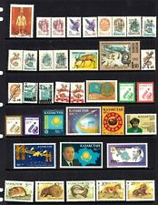 Kazakhstan - 1992/99 x 247 different stamps, nice collection, MH odd CTO (64N)