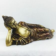 NEW Collectable Brass Traditional Buddha Art Statue Brass Sculpture Vintage Fini