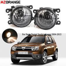 Front Bumper Fog Light Lamp with Bulbs For Dacia Duster Sandero Logan 2004-2015