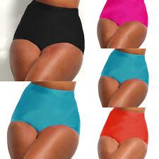 femmes taille haute Bikini Tankini BAS caleçons de bain Natation pantalon
