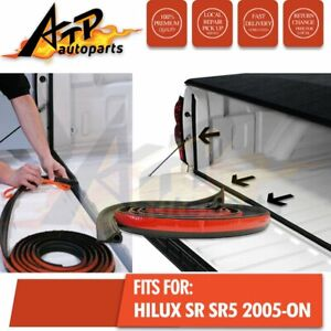 TAILGATE SEAL KIT FOR TOYOTA HILUX SR SR5 2005-ON UTE RUBBER DUST TAIL GATE SEAL