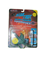 Star Trek TNG Innerspace Romulan Warbird Playmates On Card 1994