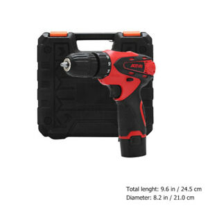 Taladro inalámbrico de batería | Taladradora | Atornillador  12V  1350 RPM