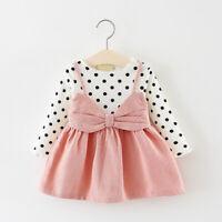 Toddler Kids Baby Girls Clothes Dress Kids Girl Clothing Skirt Infant Dresses