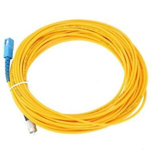10M,SC//PC to FC//PC,Duplex,SingleMode,Optical Fiber Cable Patch Cord SC-FC Jumper
