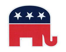 Magnetic Bumper Sticker - Republican Elephant Magnet (Conservative) - Die Cut