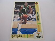 Carte NBA UPPER DECK 1993-94 McDonald's FR #19 Moses Malone Milwaukee Bucks