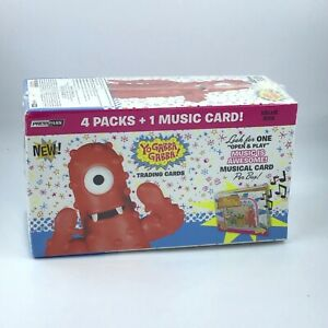 Yo Gabba Gabba / 4 Pack Trading Cards Value Box  / 1 Music Card / by Presspass