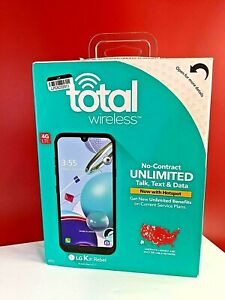 Total Wireless - LG K31 Rebel Prepaid LTE Smartphone Brand New, Sealed