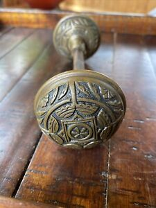 Antique Vintage Single Victorian Ornate Door Knob