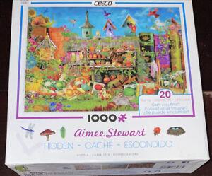 Ceaco Aimee Stewart 1000 Piece Hidden Cache Escondido Theme Jigsaw Puzzle Seek