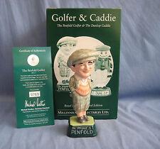Royal Doulton MILLENNIUM Collectables Penfold Golfista MCL 1-CERT-BOX-RARO