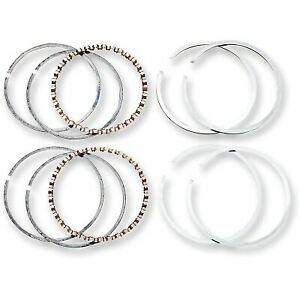 Hastings - 6164010 - Cast Ring Set, .010in. Oversize Harley-Davidson Softail Sta