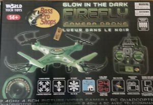 Bass Pro Shops Glow in the Dark Firefly Camera Drone 2.4 GHz 4.5CH Picture