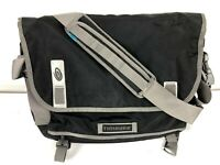 """Timbuk2 Messenger Shoulder Black Gray Large 18"""" Wide Includes insert Nice Cond!"""