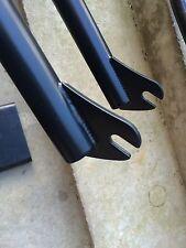 Wethepeople Mid Scuola FORCHETTE Nero 10mm CROMO 4130 BMX profilo personalizzato Federale