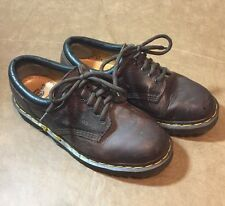 Dr. Doc Martens 8053 M Sz 5 L Sz 6 leather brown oxford Nice Made in ENGLAND