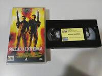 Soldat Universal Van Damme Dolph Lundgren Emmerich - VHS Kassette Tape Spanisch