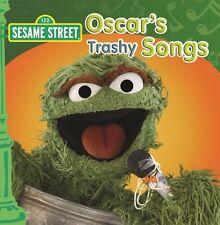 SESAME STREET Oscar's Trashy Songs CD BRAND NEW Oscar The Grouch ABC For Kids