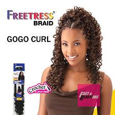 Freetress Premium Synthetic Hair Braid Crochet  - GOGO CURL
