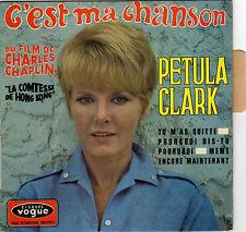 PETULA CLARK C'EST MA CHANSON FRENCH ORIG EP