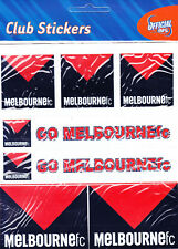 MELBOURNE DEMONS * CLUB STICKERS * AFL * NEW & SEALED