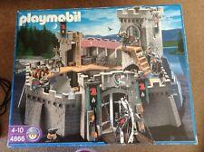 Playmobil 4866 Falcon Knight castle-Coffret-Instructions