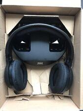 RCA Wireless Over Ear TV Headphones, Rechargable, 100ft Range, Black TESTED