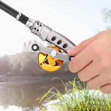 Winter Ice Casting Lightweight 3.0:1 Gear Ratio Fishing Rod Reel W/ Line Tackle