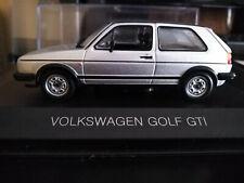 VW Golf II GTI, Silver, scale 1:43 (151696). Whitebox