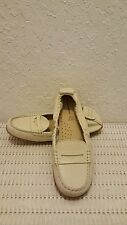 HUSH PUPPIES KATHERINE CREAM WOMEN'S SLIP-ON LOAFER SIZE 7 NEW