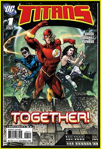 TITANS #1 (2008) 1ST 'TITANS' ETHAN VAN SCIVER VARIANT DC COMICS HBO MAX KEY NM