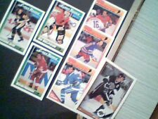 1991-92 O-PEE-CHEE COMPLETE SET (528) AND O-PEE-CHEE INSERTS (1S-10S/11R-66R)