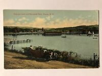 Cayuga Lake and Renwick Park, Ithaca, New York NY Postcard N.Y.