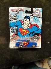 2011 Hot Wheels SUPERMAN '64 GMC Panel Die-Cast Car New In Package