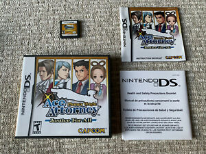 Phoenix Wright: Ace Attorney Justice For All for Nintendo DS. Complete In Box