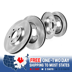 For 2013 2014 2015 2016 2017 2018 Dodge Ram 4500 Front and Rear Brake Rotors