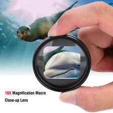 52mm 10x Magnifier Macro Close Up Lens for GoPro Hero 5 Hero 6 Magnification Act