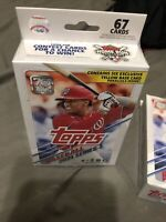 ⚾️🔥2021 Topps Baseball Series 1 Hanger Box- 67 Cards Per Box - Fast Shipping!