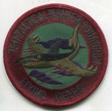 Vintage USAF Air Force 75th Tactical Fighter Squadron Flying Tigers Patch