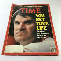 Time Magazine: July 10 1989 - Pete Rose And The Great American Obsession