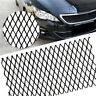Black Aluminium Rhombus Grille Mesh For Car Bumper Body kit Fender, Hood Vent