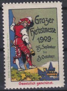 Grazer Messe 25.September bis 3. Oktober 1909 Reklamevignette