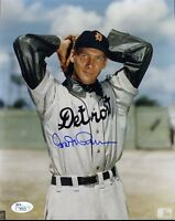 Hal Newhouser Signed Jsa Certed 8x10 Photo Authentic Autograph