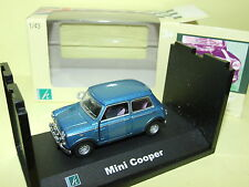 AUSTIN MINI COOPER Bleu CARARAMA